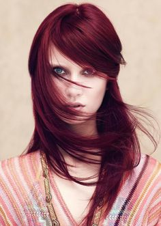 Red hair #aveda