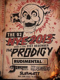 Prodigy NYE 2013   #PRODIGY #O2 #LONDON