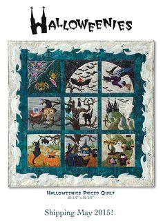 Halloweens McKenna Ryan Quilt Pattern. I love this quilt especially the border.
