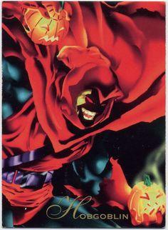 Hobgoblin-Pepsi Cards  Cuando el Duende Verde murió a manos del Hombre Araña, pensó que su legado había muerto con el, Pero cuando las armas del Duende Verde fueron robadas, Peter Parker comenzó a sospechar otra vez. En ese momento el Hombre Araña desconocía que el culpable de los robos era su mejor amigo, quien utilizo los secretos del Duende Verde para convertirse en un enemigo mas del Hombre Araña.