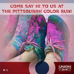 One of our awesome student housing clients sponsored the Pittsburgh Color Run this year - check out this fun graphic we posted on social leading up to the run! #studenthousing #design #brandedgraphic #socialmedia
