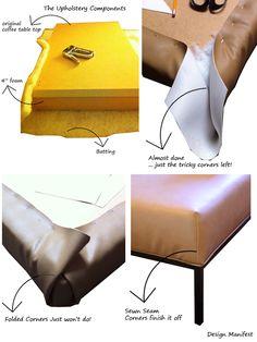 DIY: Ikea Coffee Table- Ottoman Conversion | Design Manifest