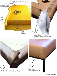 DIY: Ikea Coffee Table- Ottoman Conversion   Design Manifest