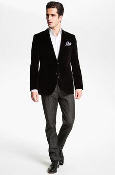 Main Image - A.P.C. 'Petit Standard' Slim Leg Jeans (Black) (Online Only)