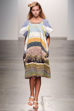 Défilé A Détacher, prêt-à-porter printemps-été 2015, New York. #NYFW #Fashionweek #runway