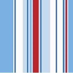 Holden Decor Wallpaper Poppins Stripe Wallpaper Blue / Red / White   10666