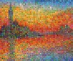 Transcendent Crochet a Solid Granny Square Ideas. Inconceivable Crochet a Solid Granny Square Ideas. Knit Art, Crochet Art, Love Crochet, Crochet Motif, Beautiful Crochet, Crochet Patterns, Patchwork Patterns, Filet Crochet, Crochet Squares