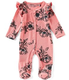 Jessica Simpson Baby Girls Months Floral Printed Ruffle Shoulder Footed Coverall – Baby For look here Baby Outfits, Toddler Outfits, Pregnant Mom, Online Shopping Sites, Baby Kind, Overall, Baby & Toddler Clothing, Girl Toddler, Baby Girl Newborn