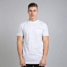Matrix Midline Pocket T-shirt - White  // Click the link to buy or for more info - https://www.king-apparel.com/new-collection/t-shirts/matrix-midline-pocket-t-shirt-white.html