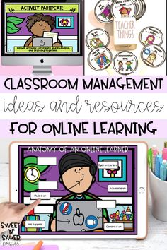 I'm sharing my favorite ideas, tips, and resource for managing your elementary classroom digitally this school year! This includes different strategies, how to set expectations while teaching virtually, parent communications, tools for getting organized, creating an effective schedule, and more!