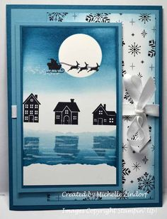 Hearts Come Home Reflection – Stampin' Up! Card