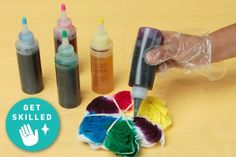 Dip dye, Ombré, tie dye...our Get Skilled has you covered! Find cool ways to tie dye with @Kollabora today on their blog!