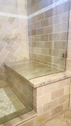 Cascade beige travertine tile flooring msi stone behr for Bath remodel temecula
