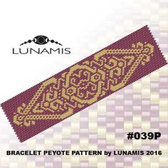 Hey, I found this really awesome Etsy listing at https://www.etsy.com/listing/274245140/peyote-bracelet-pattern-odd-count-peyote