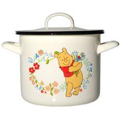 Muurla Disney 25 Litre/ 16 cm Winnie The Pooh Enamel Casserole with Lid Winnie The Pooh Mug, Winne The Pooh, Winnie The Pooh Friends, Pooh Bear, Disney Winnie The Pooh, Tigger, Disney Dishes, 100 Acre Wood, Disney Kitchen
