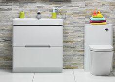 Planet White Bathroom Furniture