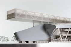 morphosis architects taipei performing arts center proposal is part of architecture - american firm morphosis architects created a futuristic design for the taipei performing arts center Morphosis Architecture, Architecture Drawing Plan, Concept Architecture, Architecture Details, Modern Architecture, Folding Architecture, Chinese Architecture, Dark Fantasy Art, Royal Ballet