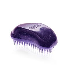 Tangle Teezer are the famous detangling hair brush brand. Buy your official Tangle Teezer online now, with brushes for various hair types and for detangling, blowdrying and styling. Best Hair Brush, Detangling Hair Brush, Sally Beauty, Purple Glitter, Styling Tools, Hair Tools, Tangled, Salons, Hair Care