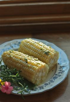 The Best Corn on the Cob You'll Ever Have (With Herb Butter!)