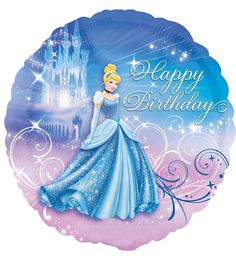 Happy birthday disney princess