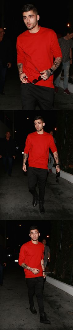 Zayn arriving at Sky Bar after the Straight Outta Compton Premiere in West Hollywood! 8.10.15