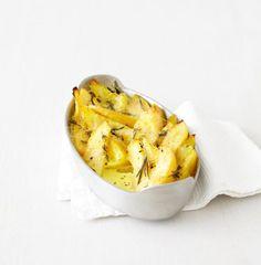 Rezept: Quitten-Kartoffel-Gratin
