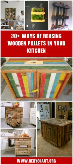 #Bar, #Kitchen, #RecycledPallet, #Shelf