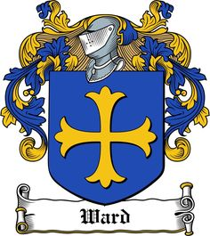 Ward Family Crest / Irish Coat of Arms