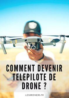 Formation Drone : tout ce que vous devez savoir de A à Z sur www.lesdroners.fr