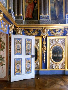 Baroque interior, Chateau d'Oiron   Flickr - Photo Sharing!