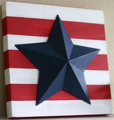 Quick and easy patriotic craft projects – July Memorial Day Week … - DIY projects Fourth Of July Decor, 4th Of July Decorations, 4th Of July Party, July 4th, Holiday Decorations, Birthday Decorations, Table Decorations, Summer Crafts, Holiday Crafts