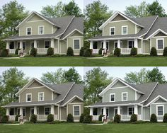sage green exterior house colors - Google Search