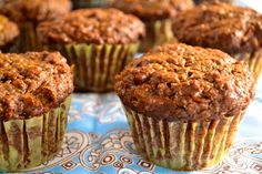 Yum Yum!!! @Jamie Wise Wise Wise Neistat (Cooking In Red Socks) ....Carrot and Raisin Bran Muffins