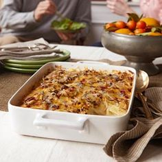 Crowd-Pleasing Scalloped Potatoes | This easy, feel-good side dish is guaranteed to make guests melt.