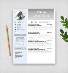 resume template cv template modern resume design by hudsonresume - Template Of A Resume