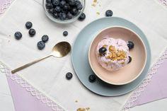 Our Recipes | Blueberry Frozen Yogurt Hamptons Lane