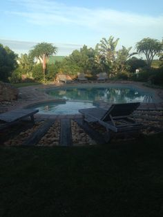 Tranquility of pool sunset over the nature reserve Dune Ridge Country House #StFrancisBay #EasternCape #SouthAfrica http://www.duneridgestfrancisbay.co.za