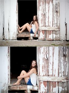 White barn, country farm styled Senior Photography #seniorphotography #2014seniors #rstudioseniors www.rstudioseniors.com