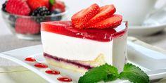Συνταγή για το αυθεντικό γλυκό ψυγείου -Με βάση από φρυγανιές και βελούδινη κρέμα Jello Cheesecake, Jello Cake, Food Cakes, Cupcake Cakes, Cupcakes, Pudding Recipes, Cake Recipes, Dessert Recipes, Yummy Treats