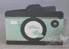 Debbie's Designs: Envelope Punch Board Camera Card!