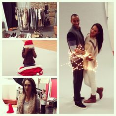 Tis the season! Sneak peak into a holiday shoot we styled for South Bay Magazine!