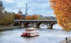 100 lugares mais bonitos do mundo para visitar!  A alma de Paris navega no Sena