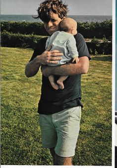 Bobby Kennedy With His 10th Child Douglas <3