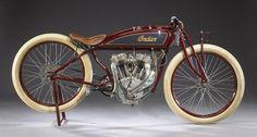 Indian 1920 Daytona racer 1000cc side valve V-twin engine In1920,