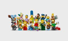 The Simpsons LEGO Minifigs | Cool Material