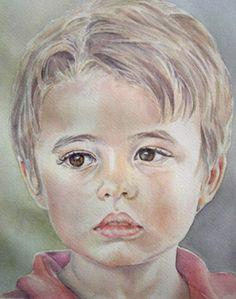 Retrato acuarela de Juan                                                       …