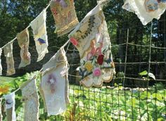 DIY Prayer Flags: Send your dreams, inspirations, and worries into the world on handmade prayer flags. Click through to learn how to make prayer flags at home.