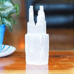 Selenite Twin Tower 20 cm (No Hole) Himalayan Salt Benefits, Twins, Auction, Tower, Make It Yourself, Gemstones, Products, Lathe, Twin