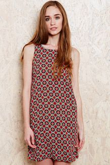 Cooperative Tank Dress in Floral