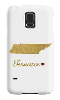 Gold Tennessee map by AnnaGo